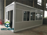 Prefab Office로 세륨 Certificated Glass Wall Container House
