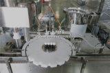 Машина масла ванны лаванды заполняя покрывая