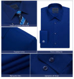 Slim su ordinazione Fit Fashion Latest europeo Shirt Designs per Men