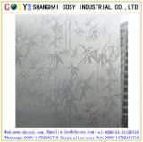 film protecteur en verre de guichet de PVC de 1.22*50m avec le collant élevé pour la décoration