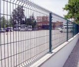 Nylofor Panel-Draht-Fechten/geschweißter Panel-Zaun