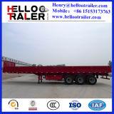 الصين 3 محور العجلة [50تون] حائط جانبيّ شحن مقطورة لأنّ عمليّة بيع