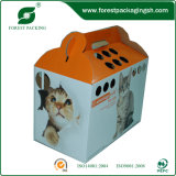 Custom Rectcled Pet Packing Box with Handle