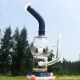 Waterpijpen van het Glas van het Ontwerp van de Schroef van de Kleur van de panda de Nieuwe Kruiden (S-GB-251)