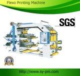 4개의 색깔 플라스틱 인쇄 기계