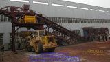 Planta de procesamiento por lotes por lotes concreta móvil Yhzs100
