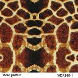 Пленка Wdf1208-1A Hydrographics печатание перехода воды конструкции животной кожи ширины Kingtop 1m