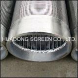 井戸のためのステンレス鋼の金網のウェッジワイヤースクリーン