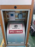 Porta de deslizamento retrátil do aço elétrico
