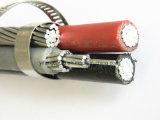 Алюминиевыми кабель ABC проводника изолированный накладными расходами