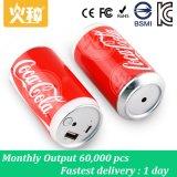 batería móvil portable de la potencia del cable 8000mAh/10000mAh
