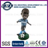 Non Toxic Basketball Player Resin Bobble Head for Souvenir