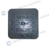 Tampas de câmara de visita Ductile quadradas resistentes En124 E600 F900