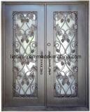 Antike kupferne dekorative Trauben-Wein-Zellen-Eisen-Fenster-Entwürfe