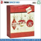 Bolsa de papel del bolso del regalo de la estación de la Navidad