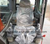 nuevo excavador medio de la correa eslabonada 15ton rojo/amarillo con el compartimiento 0.7cbm para la venta