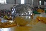 Aerostati gonfiabili giganti dello specchio dell'argento di inflazione della sfera dello specchio della discoteca