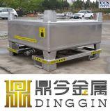 Ss304 Tanks van de Container van het Roestvrij staal van 1000 Liter de Vierkante