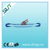 넓은 35mm, 6m 최대 길이 래치드 결박 - Sln 끝없는 세륨 GS