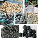 Riga macchina della pressa della sfera della mattonella per la polvere del carbone/carbone di legna/ferro