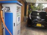 Солнечный приведенный в действие заряжатель EV используемый зарядной станцией EV быстро с Chademo и разъемом SAE комбинированным