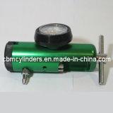 Regulador del oxígeno del índice del Pin con dos válvulas de verificación