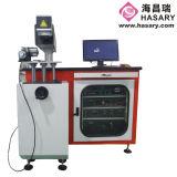 máquina de la marca del laser del metal de la alta precisión 50W para el metal del grabado