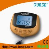 podómetro Multifunction do sensor 3D com memória (JS-400B)