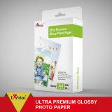 Double papier ultra de la meilleure qualité imperméable à l'eau et à séchage rapide de photo de côtés