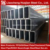 Galvanzied Прямоугольные стальные трубы Используется в качестве строительных материалов