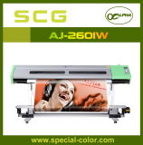 Double Dx5를 가진 Aj 2601 (w) 다색 Waterbased Indoor Printer