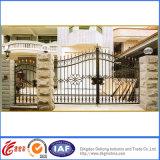 Puertas de seguridad decorativas del hierro labrado de la vendimia