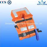 Giubbotto di salvataggio marino con indicatore luminoso ed il fischio per il bambino