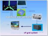 Sistema híbrido de vento solar para uso doméstico 300W-100kw