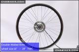 20 '' kit sin engranaje sin cepillo de la conversión del motor de la rueda del kit de 36V 350W Ebike