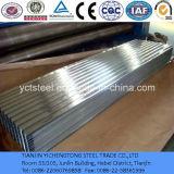 Plaque en acier de toiture ondulée/feuille galvanisées
