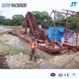 金浚渫装置の川の金の採鉱設備