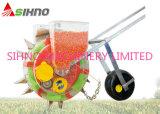 Máquina de semear e fertilizante em uma máquina de semear do milho da máquina
