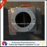 シュートの常置磁気鉄か鋼鉄分離器