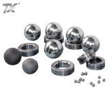 Esferas do carboneto cimentado e assento do carboneto de tungstênio