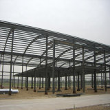 小麦粉のための軽い鉄骨構造の倉庫
