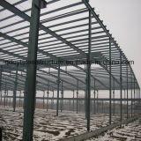 Almacén de acero prefabricado del nuevo diseño del almacén de la estructura de acero