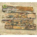 Factory Natural Rusty Color Nouvelle conception Random Style Slate Loose Stone