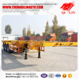 China Factory Tri-Axle Shipping Container Trailer Dimensions