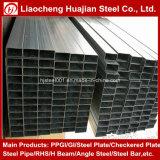 Certificación del Ce y tubo de acero rectangular superficial galvanizado de tamaños