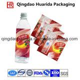 Contrassegno dello Shrink di PVC/Pet per l'imballaggio in bottiglia della bevanda con il marchio del cliente