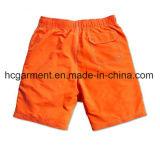 4 Shorts da placa da tela da maneira, Shorts impressos Colros contínuos da praia do projeto para o homem