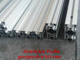Profil en aluminium de roulis personnalisé d'extrusion d'aluminium du profil 6063 de porte de guichet d'obturateur de rouleau