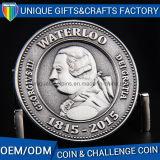 Moneta antica del metallo del ricordo smaltata più poco costosa