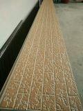 Painel de parede da construção e da decoração com o revestimento da cor, ambiental